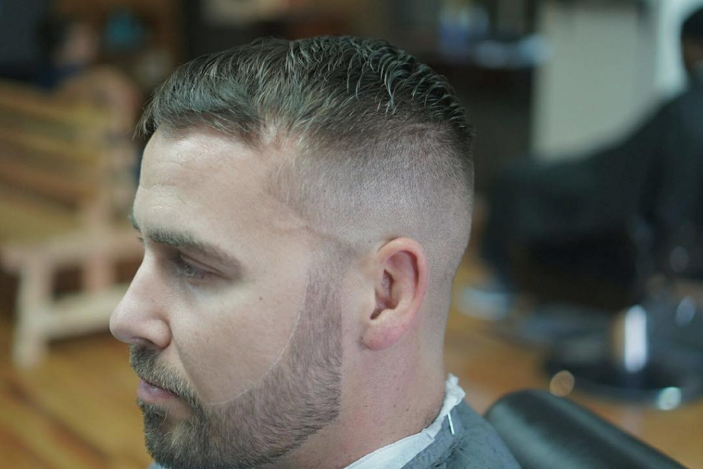 Receding hairline hair styles - Slight sweep